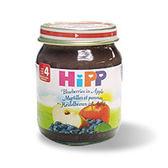 HiPP喜寶 小藍莓蘋果泥125g No.4273【TwinS伯澄】