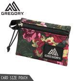 【GREGORY 美國 CARD SIZE 收納袋《花園油彩》】104720/零錢包/皮夾/隨身包/名片/卡夾