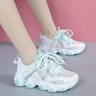 夏季新款潮鞋韓版潮流百搭輕便女士透氣春季老爹運動休閒女鞋