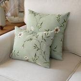 清新田園大花小花碎花葉子靠墊靠枕腰枕抱枕套床頭可定制「爆米花」