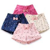 女童熱褲2018兒童短褲女外穿夏季薄款3小孩6歲寶寶中大童韓版童裝【好康618】