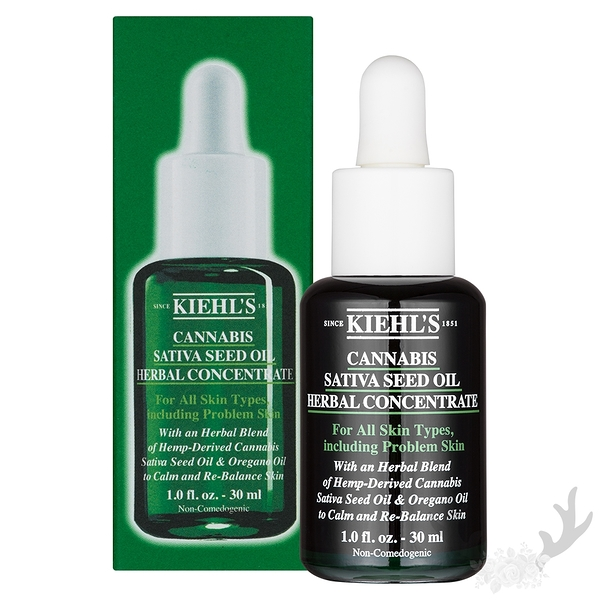 Kiehl's契爾氏 超淨化植萃調理淨膚精萃30ml 國際航空版 精華液 修護 保濕