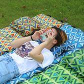 戶外充氣枕頭旅行枕 午休便攜枕 露營睡枕舒適加厚