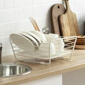 瀝水架 懶角落 碗碟瀝水架放碗架廚房碗盤收納架晾碗架置物架儲物架66158 城市科技DF