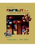 二手書博民逛書店 《Chemistry: Molecules, Matter, and Change》 R2Y ISBN:0716735954│LorettaJones