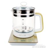 養身壺 全自動加厚玻璃養生壺電熱燒水壺花茶壺黑茶壺煎壺煮茶器煲 城市科技