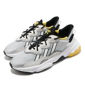 【海外限定】adidas 休閒鞋 OZWEEGO 灰 黑 黃 愛迪達 三葉草 男鞋 反光 運動鞋 【ACS】 FV9649