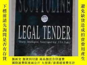 二手書博民逛書店英文原版罕見《 Legal Tender 》[Paperback