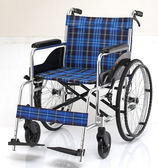 均佳 機械式輪椅 (未滅菌) 鋁合金製 JW-100