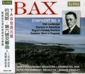 【停看聽音響唱片】【CD】巴克斯:第六號交響曲、愛爾蘭風景、三首序曲