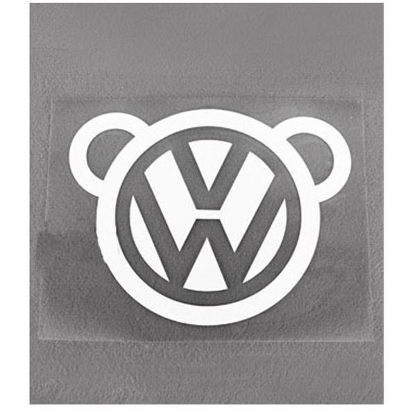 VW 偷窺熊 後窗 後擋 後蓋 反光貼紙 防水 GTI TIGUAN BEETLE GOLF LUPO POLO 貼紙