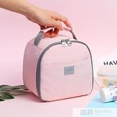 飯盒袋子保溫便當手提包帶小號包裝鋁箔上班族團加厚女的可愛日式  夏季新品