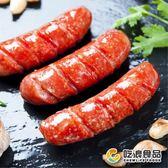 【吃浪食品】飛魚卵香腸 3包組(5條/包)