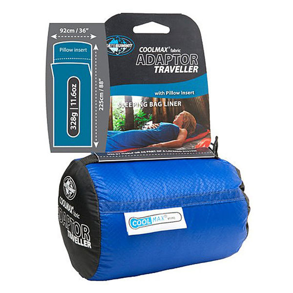 SEA TO SUMMIT 澳洲 | coolmax睡袋內套(可置入枕頭)  | 秀山莊(ACMAXYHA)