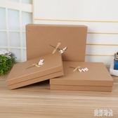 長方形禮品盒 大號禮物包裝盒正方形禮物盒 圍巾包裝盒衣服包裝盒 FF3639【美好時光】