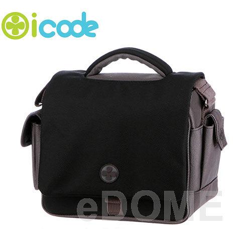 icode 幸運草 Zest SMALL (S) 相機包 黑灰 ~出清特價~ (3期0利率 免運 湧蓮公司貨) 韓國時尚相機包