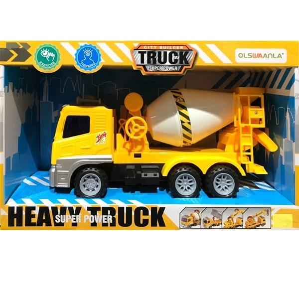 HEAVY TRUCK SUPER POWER 工程水泥車 TOYeGO 玩具e哥