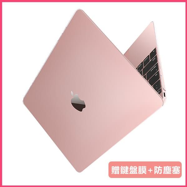 【現貨不用等】mac保護殼 macbook保護殼 air13亮面保護殼A1990/1989電腦殼透明水晶殼
