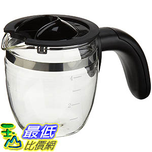 [106美國直購] Capresso 4-Cup Glass Carafe with Lid for 303 Espresso Machine 咖啡機專用杯