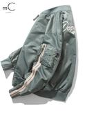 飛行外套秋季新品飛行員夾克男秋裝潮牌外套青少年帥氣休閒棒球外套寬鬆衣服