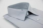 【金‧安德森】灰色易整燙暗紋涼感窄版短袖襯衫