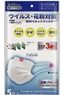 日本小林製藥99CUT三層不織布大人用立體口罩(4袋20枚入) 非醫療用 現貨