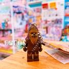 正版 LEGO 樂高鑰匙圈 STAR WARS 星際大戰 丘巴卡 人偶鑰匙圈 鎖圈 吊飾 COCOS FG280