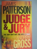 【書寶二手書T5/原文小說_LOB】JUDGE & JURY(法官與陪審團)_詹姆斯·帕特森