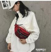 胸包蹦迪包時尚少女小背包新款韓國簡約腰包街頭休閒胸包 凱斯盾