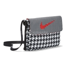 Nike 包包 NSW Futura 365 Bag 男女款 黑 白 千鳥格紋 斜背包【ACS】 DJ8067-010