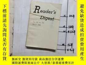 二手書博民逛書店Readers罕見digest 1983 2 3 共2本合售Y1