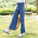 寬褲 Space Picnic 方形口袋經典單寧寬褲(現+預)【C18053108】