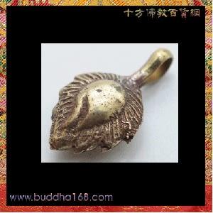 摩尼寶{銅}念珠夾1個【十方佛教文物】