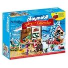 playmobil 驚喜月曆 聖誕老人的工作室_PM09264