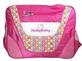 【卡漫城】 瑕疵出清 Hello Kitty 斜背包 圓點 桃紅 庫一 ㊣版 凱蒂貓 側背包 書包 筆電包 肩背包