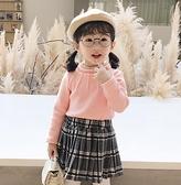 女童上衣 秋裝女童上衣兒 洋氣純棉保暖高領打底衫冬裝~ 出貨八折 ~