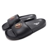 Reebok 拖鞋 Classic Slide 黑 金 Allen Iverson 經典LOGO 舒適好穿 男鞋【PUMP306】 CN6737