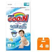 大王GOO.N 黏貼型紙尿褲-境內版 L (54片)x4串/箱