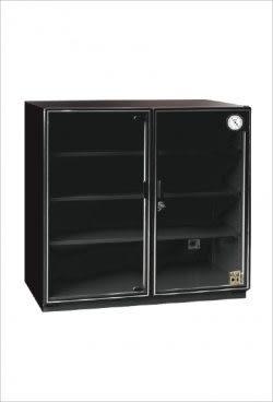 收藏家電子防潮箱 257公升 AXL-250 外尺寸(寬80高84深46cm)雙門大空間、無中柱專利設計