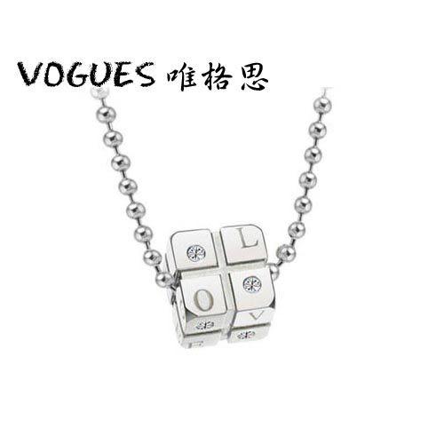 西德鈦鋼型男項鍊(另有女款)A046/  單售230元 情人節禮物【Vogues唯格思】