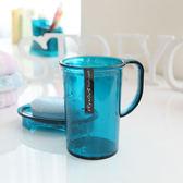 韓國進口創意浴室漱口杯情侶洗漱杯牙刷杯塑料杯刷牙杯子喝水杯   初見居家