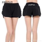 運動褲 夏季新款運動短褲女防走光寬鬆速干馬拉鬆跑步褲瑜珈健身褲女  618購物節