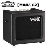 【非凡樂器】VOX MINI3 G2 可攜式類比吉他擴大音箱 黑色款 / 贈導線 公司貨保固