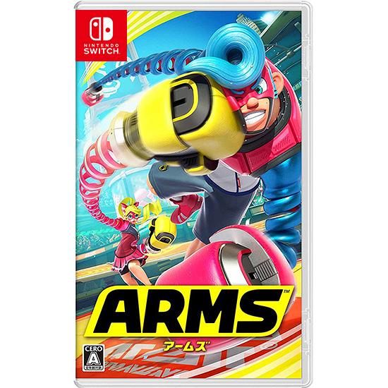 [哈GAME族]免運費 可刷卡●熱門體感格鬥遊戲●任天堂 Nintendo Switch NS 神臂鬥士 中文版 ARMS