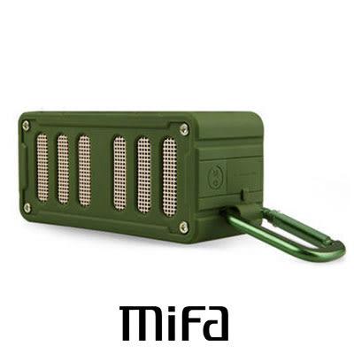 MiFa F6 無線 NFC 隨身藍芽MP3喇叭 軍綠色 快速配對超方便