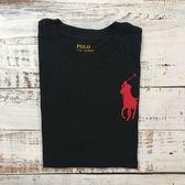 【蟹老闆】Ralph Lauren  童短袖 大LOGO 紅馬 黑色