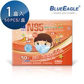 【醫碩科技】藍鷹牌 立體型2-6歲幼童醫用口罩 50片/盒 NP-3DSSM