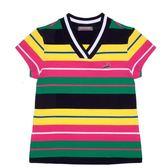 『小鱷魚童裝』V領條紋T恤(08號~18號)339453