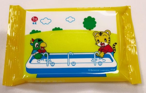 台農 巧虎版 純水濕紙巾 10抽 1箱60包入【超取限一箱】