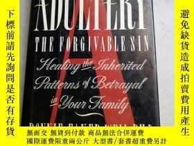 二手書博民逛書店ADULTERY:罕見THE FORGIVABLE SIN 【精
